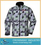 Allover Print Fashion Cool Softshell Jacket with High Quality (CW-SOFTS-12)