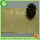 316 304 Cheaper Price Stainless Steel Sheets Mirror Gloden Etched
