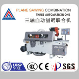 Utm-320 Triaxial Automatic Wood Planer Sawing Machine Table Saw