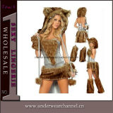 Wholesale Fancy Dress Sexy Adult Animal Halloween Costume (TLQZ002)