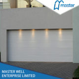 Easy Lift Automatic Electric CE Approved PU Foamed Insulated Cheap Garage Doors Panels Prices with Pedestrian Doors and Aluminum Accessories