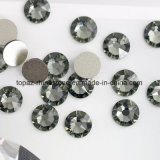 Best 2088 Cutting Black Diamond Non Hotfix Glass Rhinestone Flat Back Rhinestone (FB-13)