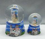 Polyresin Greece Items for Souvenir Snow Globe