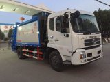 Dongfeng 4X2 Waste Collector Compressed 14 M3 Compactor Compress Garbage Truck Rubbish Truck