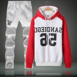 Manufacturer Customize Logo 2017 Sport Wear Hoodie Track Suit