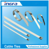 Heavy Duty Silver Stainless Steel Cable Zip Ties 4.6X350mm