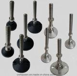 Fixed Adjustable Leg, Stainless Steel Adjust Feet for Conveyor Machine, Leveling Feet