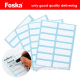 Office Supply Glutinous Label with Red Line
