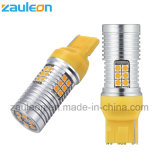 No Hyper Flash Amber Yellow W21W T20 7440 LED Bulbs for Car Front or Rear Turn Signal Lights