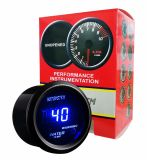 Electronic Universal Water Oil Temp Temperature Celsius Meter Gauge