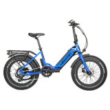 Leichten Electric Bicycle Strong Power 500W/750W 48V/10.4ah/14ah Li-ion Battery 7 Speed Fat Tire Folding Electric Bike
