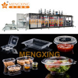 Plastic Food Package Clamshell Box Thermoforming Forming Making Machine Disposable Salad Bowl Vacuum Forming Machine