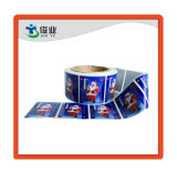 Fashion Christmas Cheap Adhesive Sticker/Logo Customized Printing Label