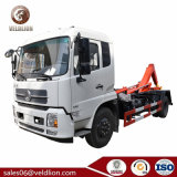 Dongfeng Tianjin Wholesale High Quality 4X2 Hook Lift Garbage Truck with 10m3 Detachable Garbage Collection Compartment