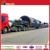Modular Type Hydraulic Loader Equipment Lowbed Truck Trailer