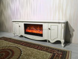 New Design TV Cabinet with Fireplace Insert and Heater (334S)