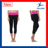 Healong Cut and Sewn Craft Two Color Yoga Leggings Pant
