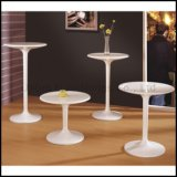 Snow White Round ABS Tulip Side Table (SP-BT503)