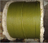 Ungalvanized Steel Wire Rope with Golden Color Grease a-2