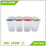 Gtx Airtight Watertight Food Storage Container Jars Canister Cereal Keeper Box with Lid