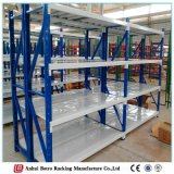 Longspan Galvanized Steel Decking Storage Warehouse Shelf