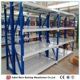 Longspan Galvanized Steel Decking Storage Warehouse Wire Shelf