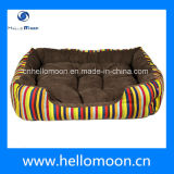 Attractive Bright Colorful Stripe Dog Bed Covers