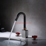 Deck Mounted Single Handle Chrome Bathroom Tap and Mixer Zinc Basin Faucet