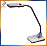 High Power Rechargeable Office Table Lamp with Pen Container & Magnifier