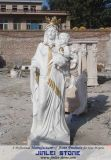 White Marble Stone Figure Sculptures for Garden Decoration