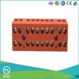 Plug in Base Closure Terminal Blocks Twelve Bits 600V 36A