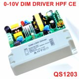 20-35W 0-10V Dimmable High PF LED Power Supply with Ce QS1203