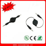 Retractable 3.5mm Male to Male Stereo Audio Cable