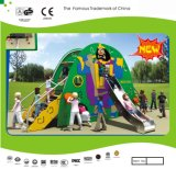 Kaiqi Small Sized Colourful Children′s Slide Set for Playground (KQ21054A)