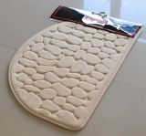 Solid Memory Form Shape Bathmat