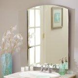 Qingdao Decorative Bathroom Silver Safety Mirror with Vinyl Backed Film (SMI-SM020)