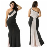 In Stock Plus Size Lace Sexy Women Evening Gown