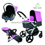 0-36 Months Suitable Age and Aluminum Alloy Frame Material Baby Stroller Car 3 in 1