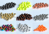 Big Discount Colorful Slotted Tungsten Fishing Beads for Outdoor Fishing