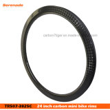 "24X1.75"" Carbon BMX Race Rim 24"" 507 38mm Deep 25 mm Wide"