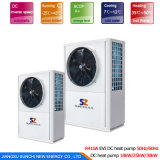 Top10 Hot Sell Save70% Energy Cop4.23 R410A 12kw, 19kw, 35kw, 70kw, 105kw Water Heatpump Heater