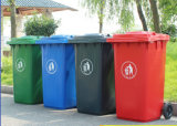 Factory 240 Liter Garbage Bin Outdoor Plastic Waste Bin