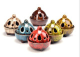 OEM New Product Porcelain Ceramic Decorative Craft Incense Burner