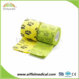 Good Quality and Free Sample Printed Cohesive Bandage for Vet Wrap