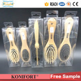 Wholesale Custom Hair Brush Comb Fsc Wood Hair Brush with Pet Box
