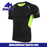 China Wholesale Cheap Men's Wear Fitness Sport Shirt