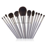 High Quality Smoke Gray Makeup Brush Set Cruelty Free Powder Foundation Cosmetics Brush Tools
