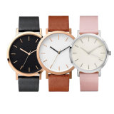 Fashion Custom Stainless Steel Back Water Resistant Classic Quartz Wrist Watches -V34