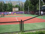 Tennis Court Artificial Grass with Factory (SF13W6)