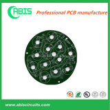 Round Shape Aluminum Base PCB with Green Solder